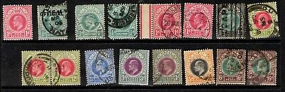 Natal - King Edward VII - MM/Used to 6d