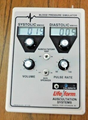 Blood Pressure Simulator Adult Medical Training  - Base only No Arm, cords