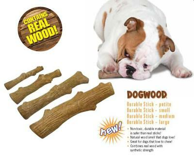PetStages Natural Wood Chew Stick Dog Toy Durable Synthetic Non-Toxic Fun SMALL