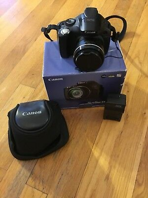 canon powershot sx40 hs 12.1mp HD digital camera Video &Case