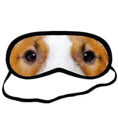 New BULL TERRIER EYES Dog Puppy Lovers Small-Med Size Black SLEEPING MASK Gift