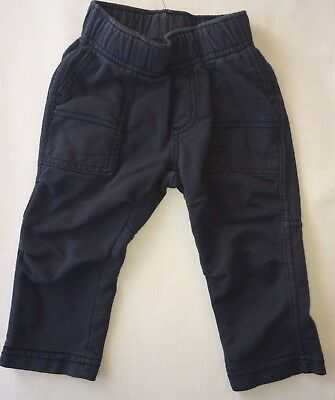 Tea Collection Baby Boys 12-18 Months Navy Blue Pants
