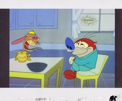 Ren & Stimpy Original Production Cel Cell Spumco COA John K Season 1 Episode 1!