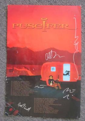 Puscifer Tour Poster 2011 Signed Concert Autograph Tool A Perfect Circle