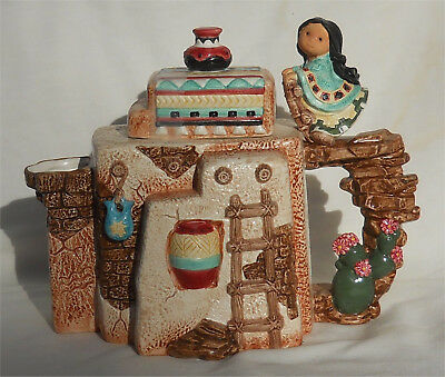 Friends of the Feather Amigos del Sol Karen Hahn Teapot