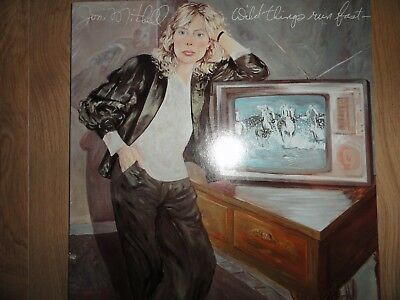 JONI MITCHELL - Wild Things Run Fast - LP Geffen Records