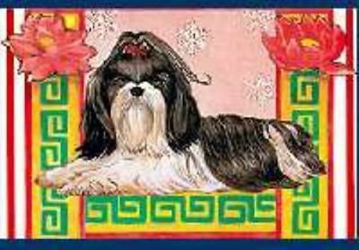 Ten Cards Pack SHIH TZU Dog Breed Christmas Cards USA made