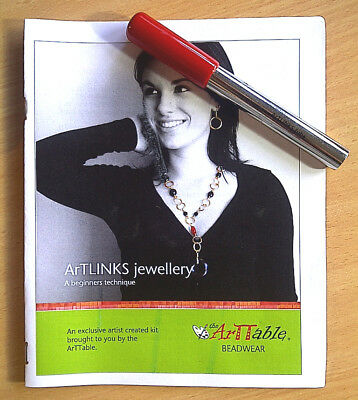 Beading & Wire Jewelry ArTLINKS looping tool - with patterns and instructions.