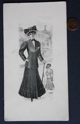 1910-20s Era Cincinnati,Ohio Andrews Building Ladies' Tailor advertising booklet