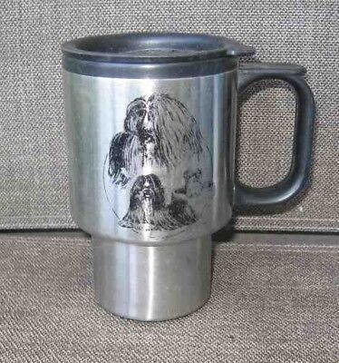 Travel Mug SHIH TZU Stainless Steel Insulated Travel Mug CLEARANCE SALE