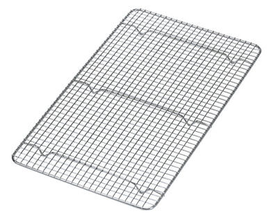 Update PG1018 Wire Pan Grate Full Size 10in x 18in Chrome