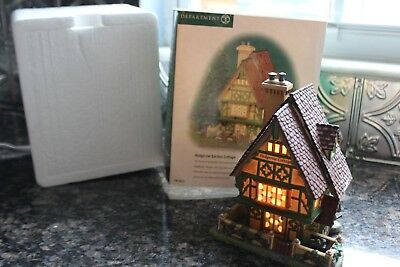 "Dept 56 Dickens Village ""Hedgerow Garden Cottage"" #58476 Christmas"