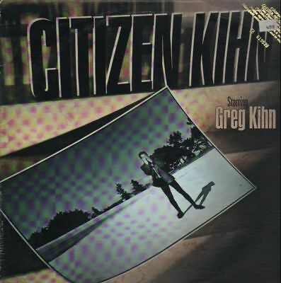 Greg Kihn Citizen Kihn NEAR MINT EMI America Vinyl LP