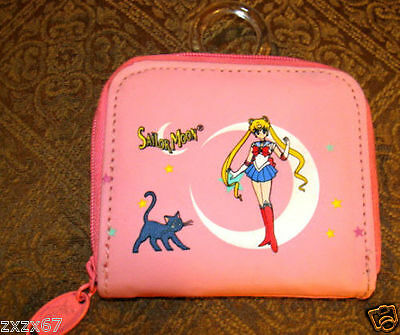New With Tags Sailor Moon Coin Purse Bag Pink
