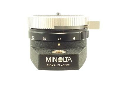 MINOLTA PANORAMA HEAD II In Original Box - C83