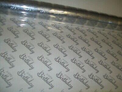 BLACK Love HEARTS Cellophane DIY Hampers present Gift Wrap Valentines Day LOVE