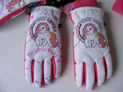 My Little Pony Freezy Freakies Color Change Warm to Cold Gloves M L Teen Adult S
