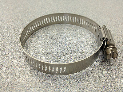 Breeze #20 All Stainless Steel Hose Clamp 10 Pcs 63020