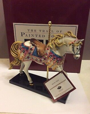 Trail of Painted Ponies BEDAZZLED Horse Figurine 3E/6808 J.E. Speight Artist,