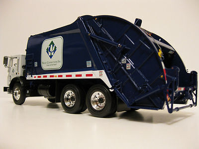 Rare Waste Connections Inc. Mack Mr Rear Load Garbage Truck  By First Gear Mint