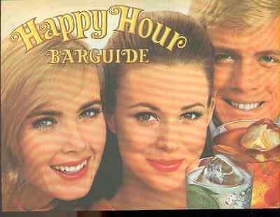 SOUTHERN COMFORT Happy Hour Barguide (1969) 12-page advertising booklet
