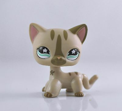 Pet Short Hair Cat Collection Child Girl Boy Figure Littlest Toy Loose LPS07