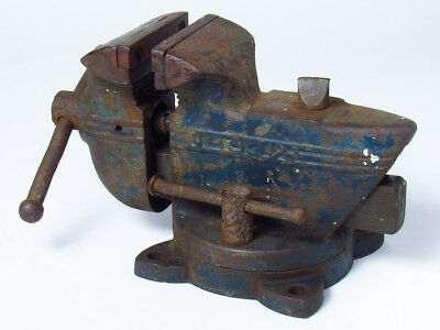 Vintage Parker No. 93 1/2 Bench Vise Art Deco
