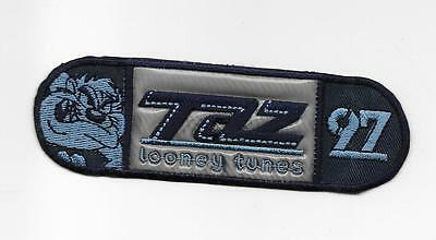New! Tasmanian Devil Taz 97 Looney Tunes Blue Embrodered Iron On Patch