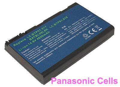 Laptop Battery for Acer Aspire 3100 5100 5610 5515 5610 BATBL50L6 BATBL50L8H