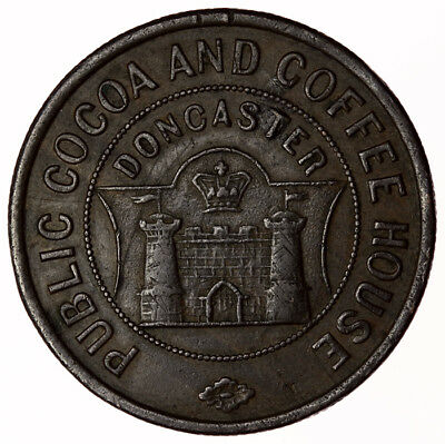 Public Cocoa & Coffee House Doncaster ~ 1 Penny Token
