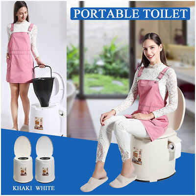 Portable Indoor/Outdoor Camping Toilet Caravan Travel Camping Potty Commode USA