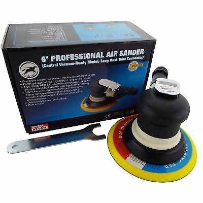 "150mm 6"" Professional Palm Air Sander 10,000rpm 6mm Random Orbit Sanding"