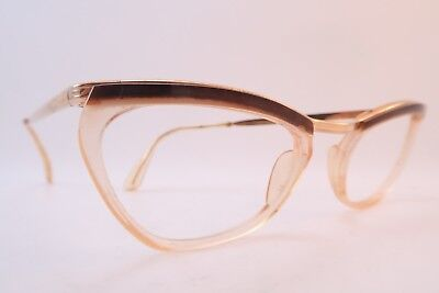 Vintage 50s eyeglasses frames gold filled ANJOU Doublé Or Laminé made in France