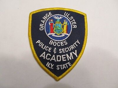 New York Orange Ulster Co Police Academy Patch
