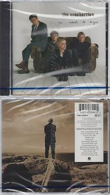 Cd--Nm-Sealed-The Cranberries -1994- -- No Need To Argue -1994-