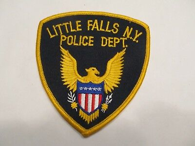 New York Little Falls Police Patch