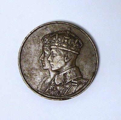 Circulated 1939 Canadian Bronze Medal Commemorating the First Royal Visit