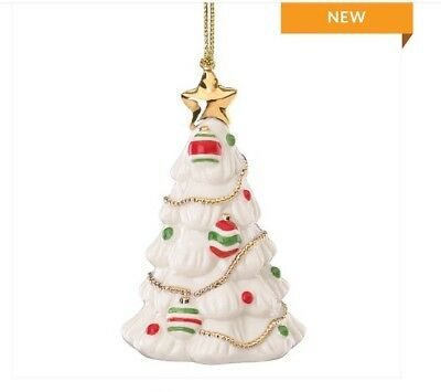 Lenox Christmas Tree Ornament NEW