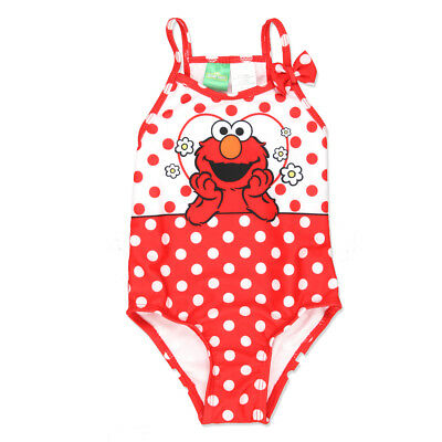 Sesame Street Elmo Toddler Girls Swimwear Swimsuit 7815803SS