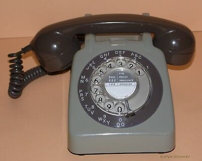 VINTAGE BT / GPO ROTARY DIAL TELEPHONE * Tested / Working * Phone * 706L GNA *