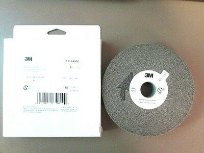 3M 64900 6x1x1 GENERAL PURPOSE DEBURRING WHEEL 9S FINE NEW