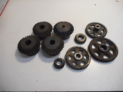 L3049-  Industrial Steampunk Gears - For Art Repurpose Use Vintage