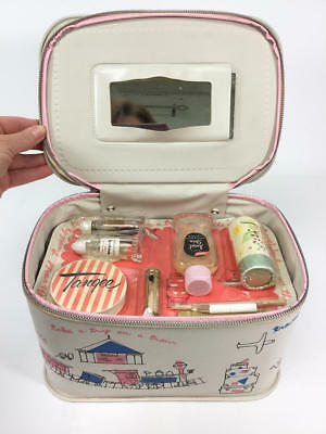 Vintage New Old Stock Tangee Travel Case With Cosmetics On Sealed Package