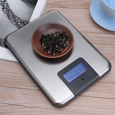 5kg/11lb Stainless Steel LCD Digital Electronic Kitchen Food Diet Postal Scale