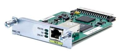 Cisco HWIC-1FE  Interface Card 1 x 10/100Base-TX one routed port