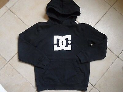 LOT - Sweat noir à capuche DC SHOES + chemise JBC + doudoune bleu JBC -  10 ans