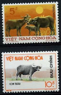 South Vietnam 1973 SG#S449-S450 Year Of The Buffalo MH Set #D66769
