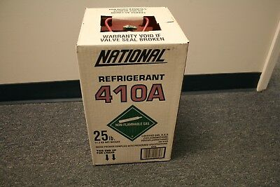 R410A Refrigerant 25 Lb tank PICK UP ONLY Non-Flammable Gas New Factory Sealed