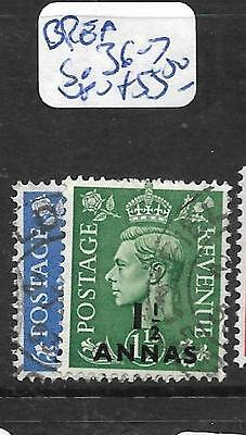 British Post Offices In Eastern Arabia (P1905Bb)  Kgvi On Gb  Sg 36-7  Vfu