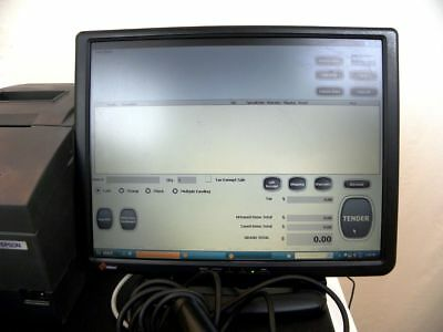 POS Register or Point of Sale Cash Register w/Touch Screen & POS Software Rugged